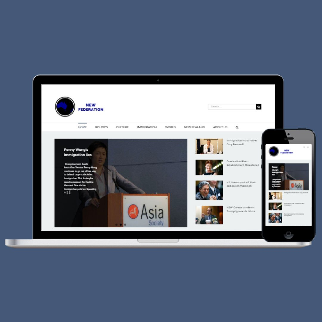 Responsive Web Design - News