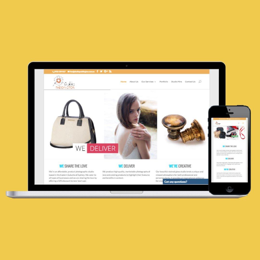 Responsive Web Design - Photography Services