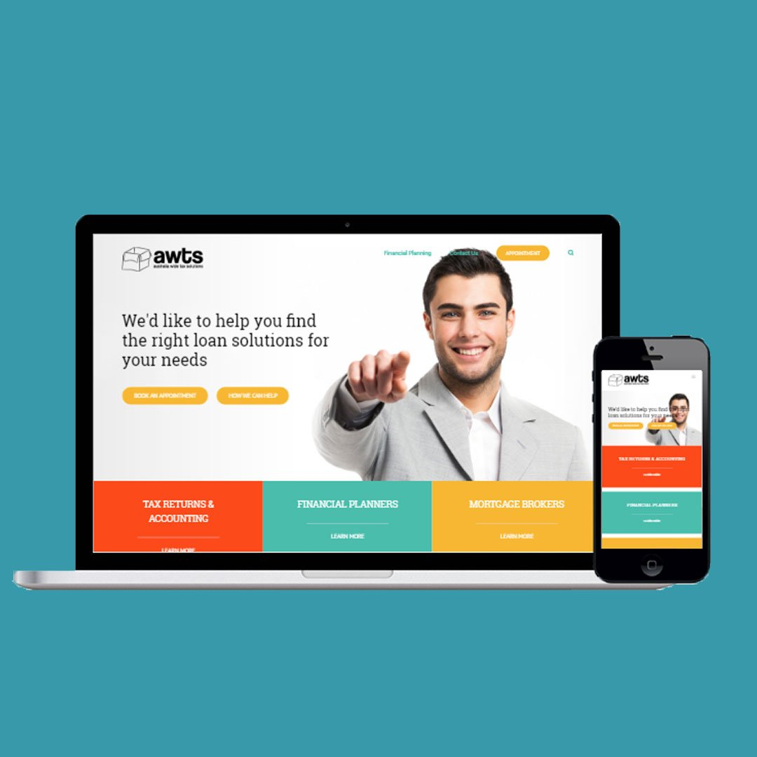 Responsive Web Design - Accounting Services